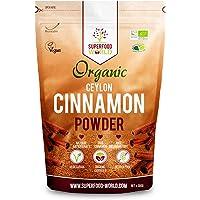 Organic True Ceylon Cinnamon Powder | Premium Ceylon Superfood Packed with Powerful Antioxidants | Anti-Inflammatory & Supports Healthy Blood Sugar | Ideal for Cooking, Tea & Treats 300g