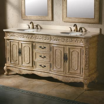 James Martin Furniture 72 In. Bathroom Double Vanity In Cream Finish 497955