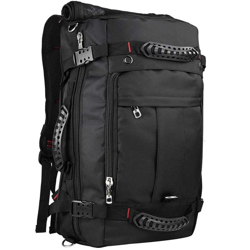 ショルダーバッグメンズカジュアルトラベルバッグ大容量手荷物バックパック多機能トラベルパッケージアウトドアスポーツ B074XPRXN5 55*33*20cm