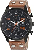 Time Piece Herren-Armbanduhr Young Fashion Analog Quarz Leder TPGA-90951-22L