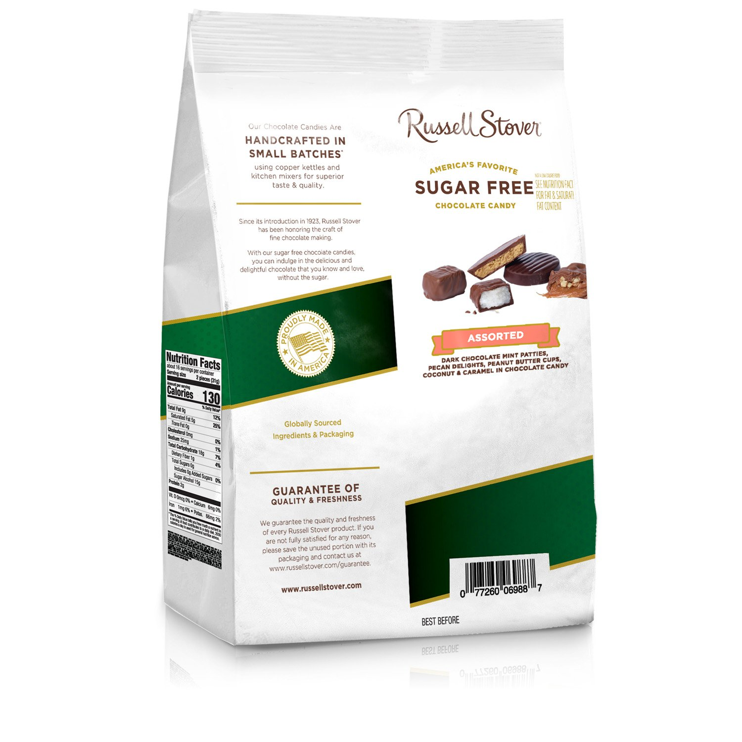 Russell Stover Sugar Free Assortment, 17.85 Ounce Bag, 4 Count by Russell Stover (Image #3)