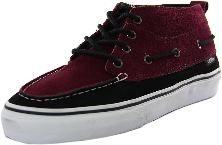 chaussures vans homme cuir montante