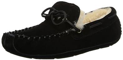 70e472449cf ACORN Men s Sheepskin Moxie Moc Slipper