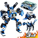 Robot STEM Toy | 3 in 1 Fun Creative Set | Construction Building Toys for Boys Ages 6-14 Years Old | Best Toy Kids…