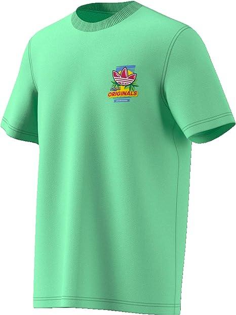 adidas T Shirt Uomo Bodega Popsicle ED7061 (S GLOGRN