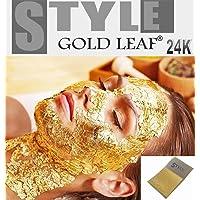 Láminas de oro de 24quilates puro al 99,9