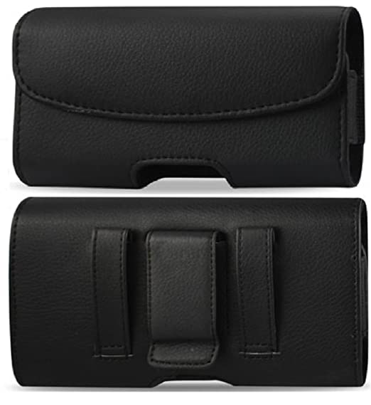 new style e94ea 9e52f Leather Pouch Protective Carrying Cell Phone Case for Motorola DROID X  Android Phone (Verizon Wireless) / Dell Venue Pro Aero AT&T / Samsung  Continuum ...