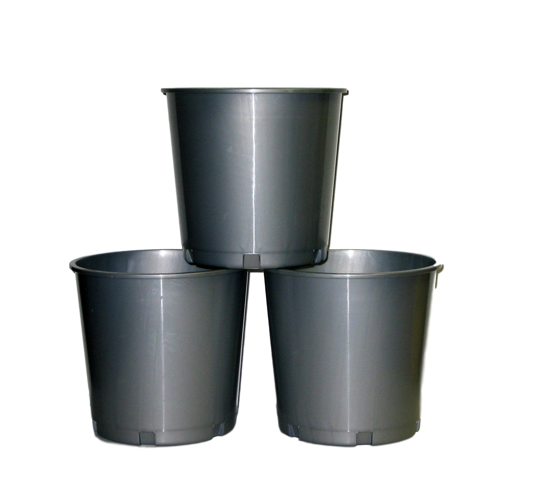 Church Offering Buckets, Wholesale Lot 50, Color Silver by Jean's Plastics