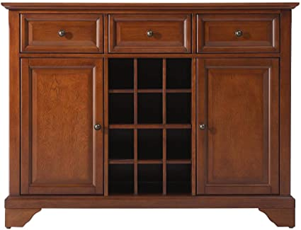 Amazon Com Crosley Furniture Lafayette Wine Buffet Sideboard