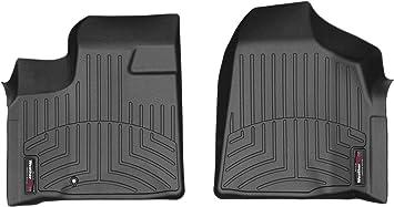 Black WeatherTech Front FloorLiner for Select Dodge Charger Models
