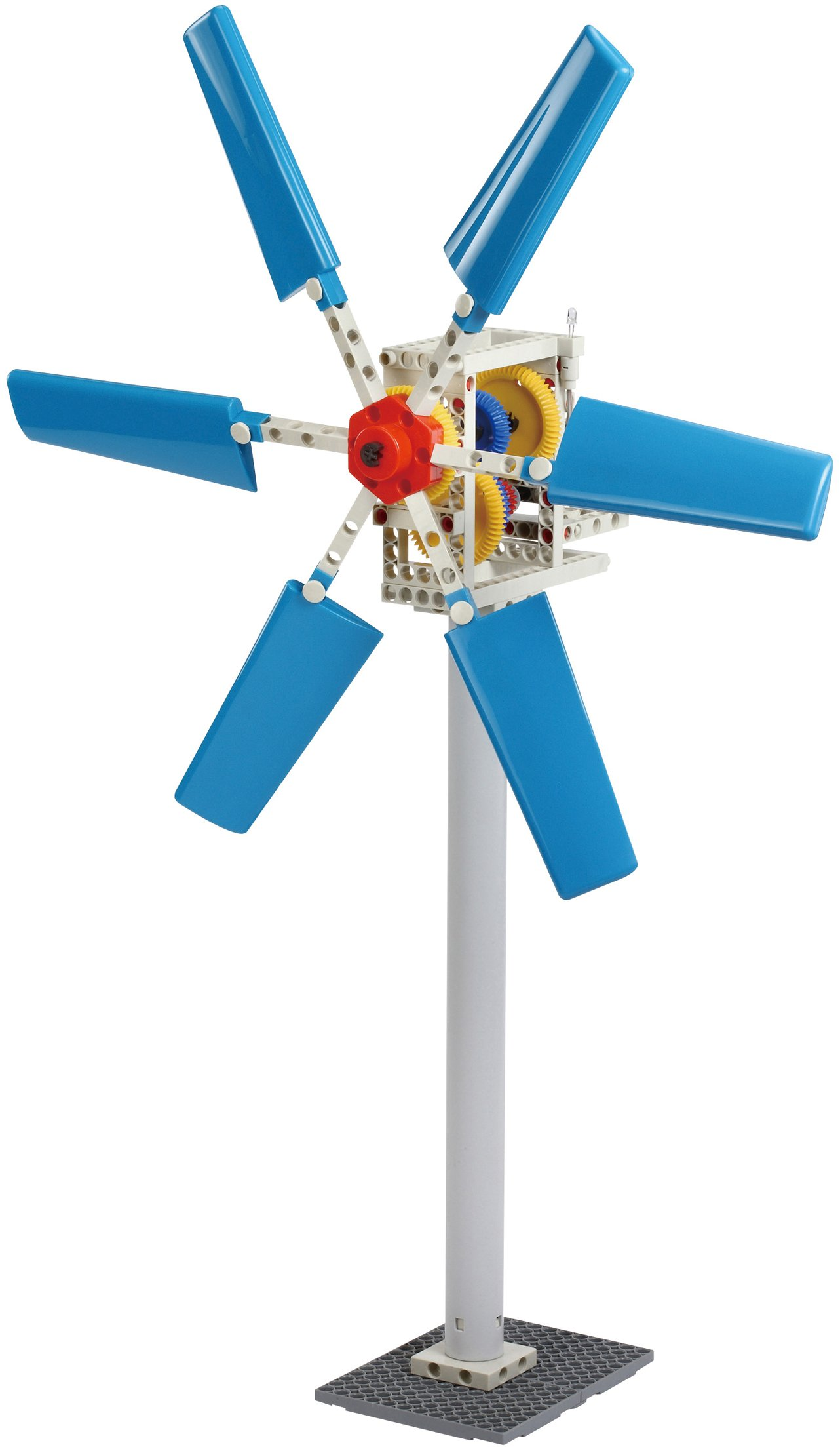 Thames & Kosmos Wind Power 2.0 Science Experiment Kit | Build Wind-Powered Generators to Energize Electric Vehicles | 3-Foot-Tall Long-Bladed Turbine | Experiments in Renewable Energy by Thames & Kosmos (Image #4)