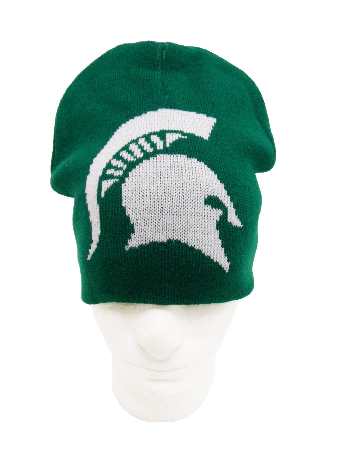 NCAA Michigan State Spartans Men's University Jacquard Knit Beanie