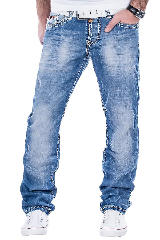Blaue hose farbt