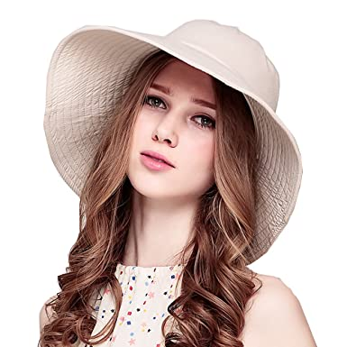 Image Unavailable. Image not available for. Colour  Maitose Trade  Women Sun  Protection Windproof Wide Brim Hat a5cbb6908237
