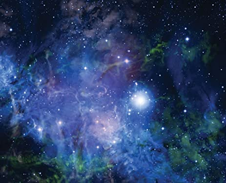 JP London MD3A049 DM1578 Space Nebula Removable Full Wall Mural At 8.5 Feet  Tall By Part 42