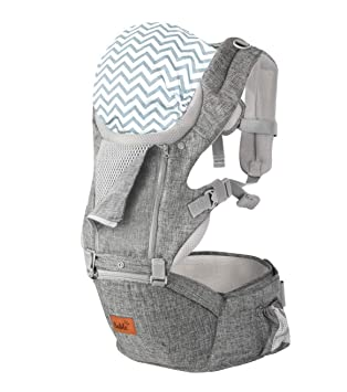 for 8-33lbs COOL MESH for Summer Baby Carriers Front and Back Toddler baby carrier 6-in-1 Convertible Carrier 360 Ergonomic Baby Carrier Backpack Baby Wrap Carrier Baby Carrier with Hip Seat