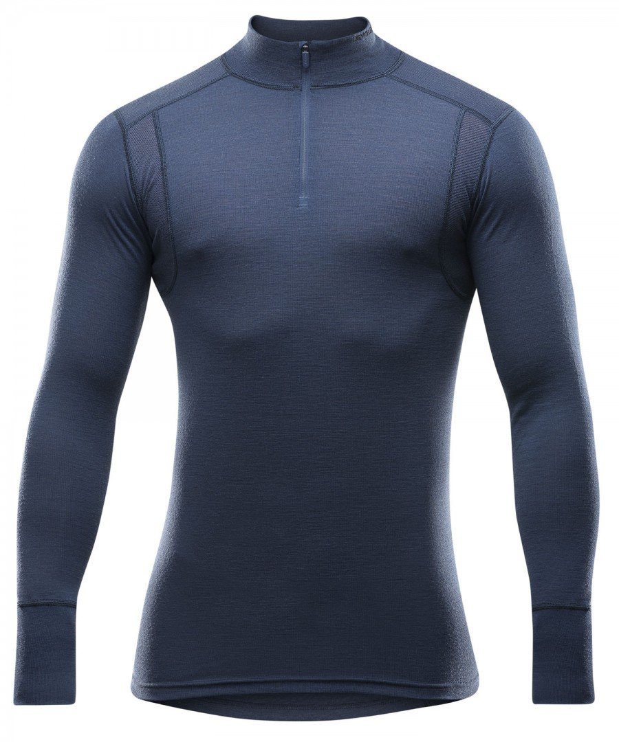Devold 190 Hiking Half Zip Neck Longsleeve Shirt Men - Merino Longsleeve