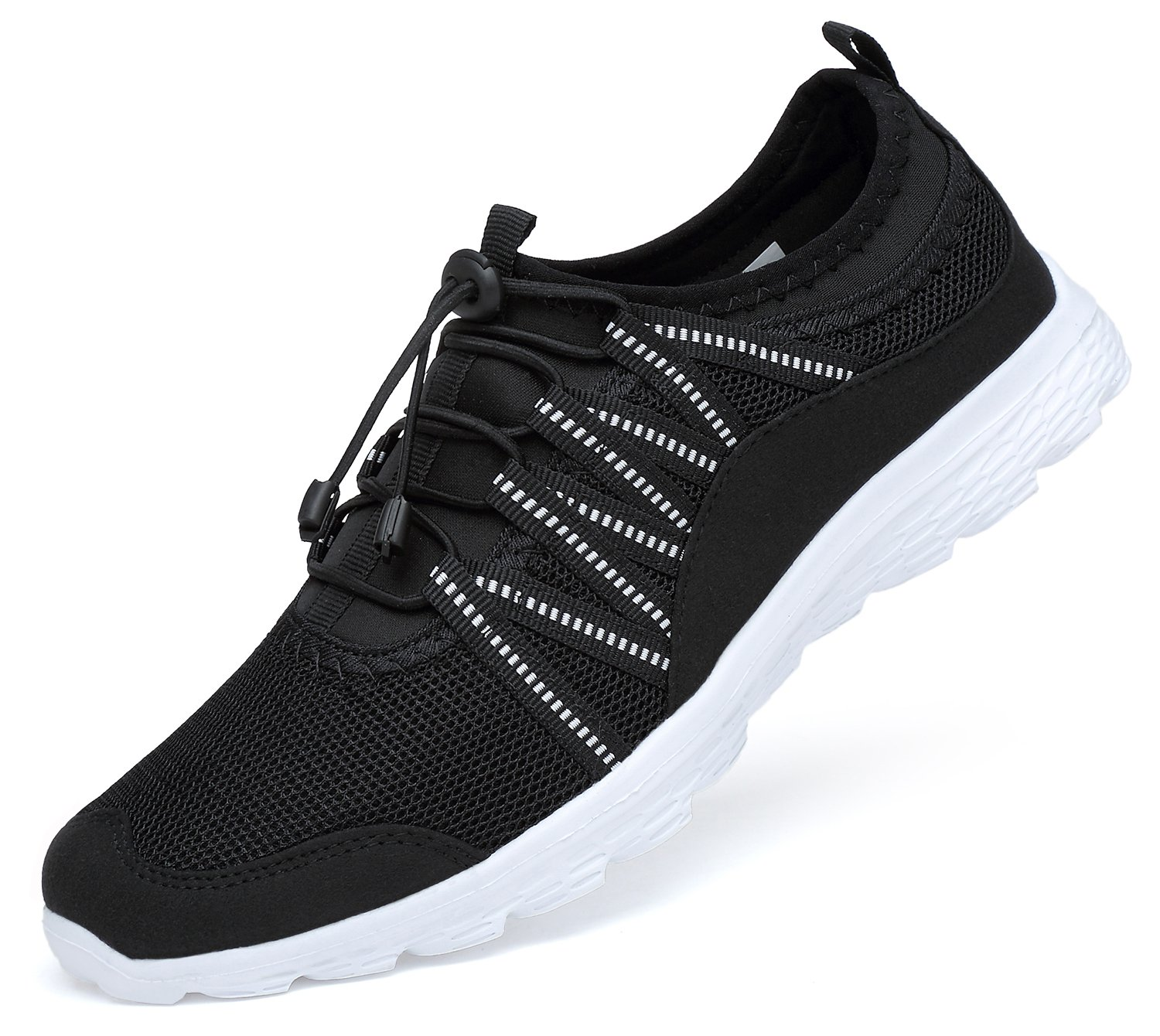 Men's Lightweight Walking Shoes Breathable Mesh Soft Sole for Casual Walk Outdoor Workout Travel Work by Belilent (Image #1)