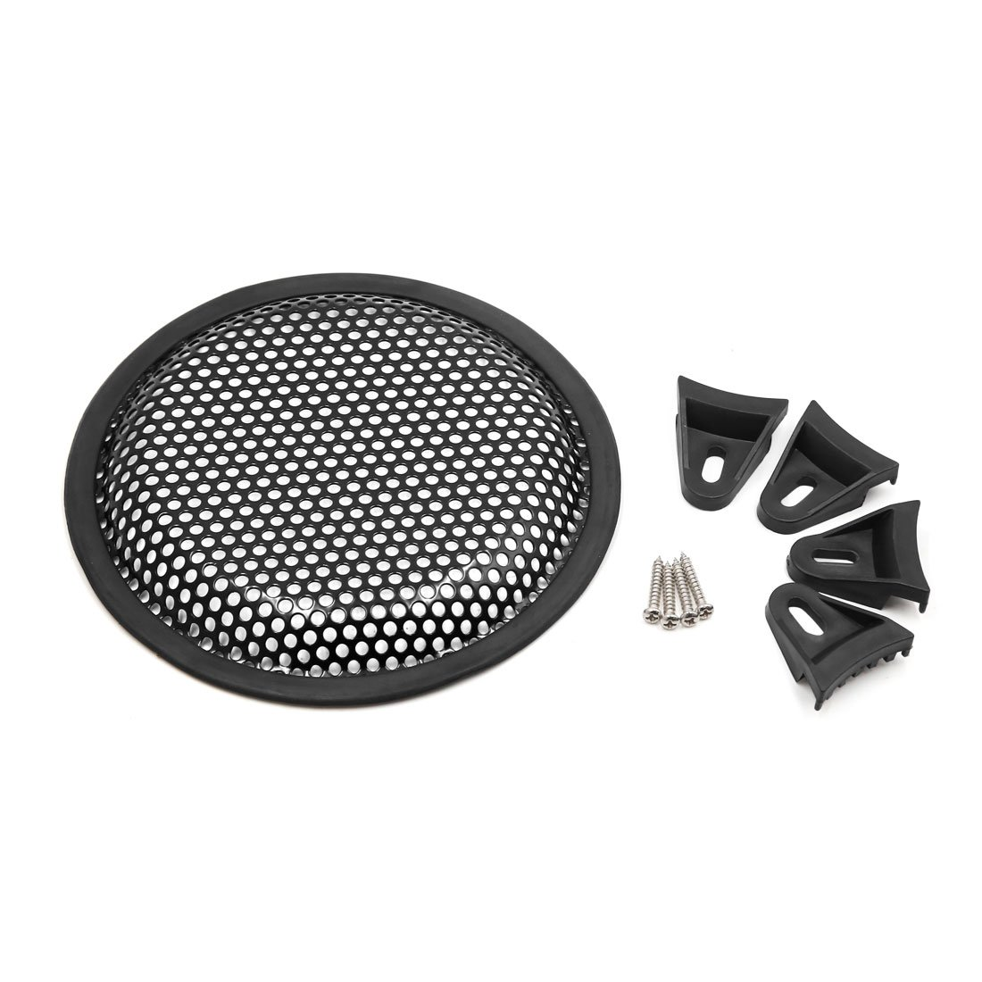 Uxcell a16060400ux0127 6.5' Car Audio Speaker Mesh Sub Woofer Subwoofer Grill Dust Cover Protector