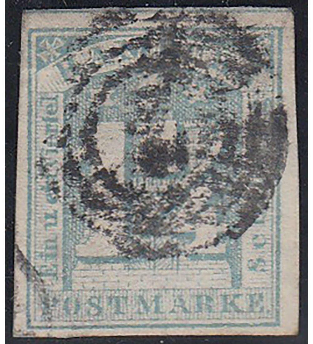 Goldhahn Hamburg Nr. 8 d gestempelt geprüft Briefmarken für Sammler