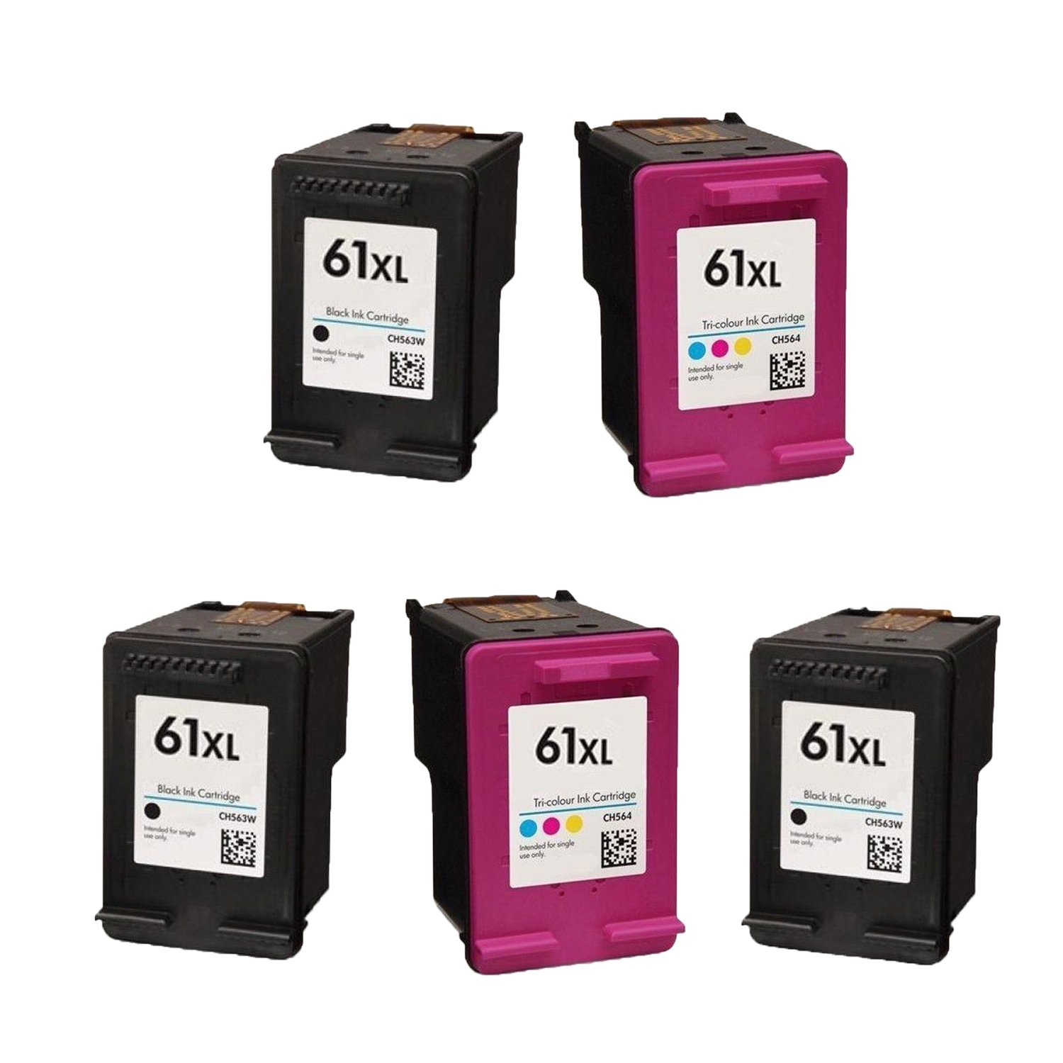 Amazon Generic Remanufactured Ink Cartridge Replacement for HP CH563WN Black 1 Pack fice Products