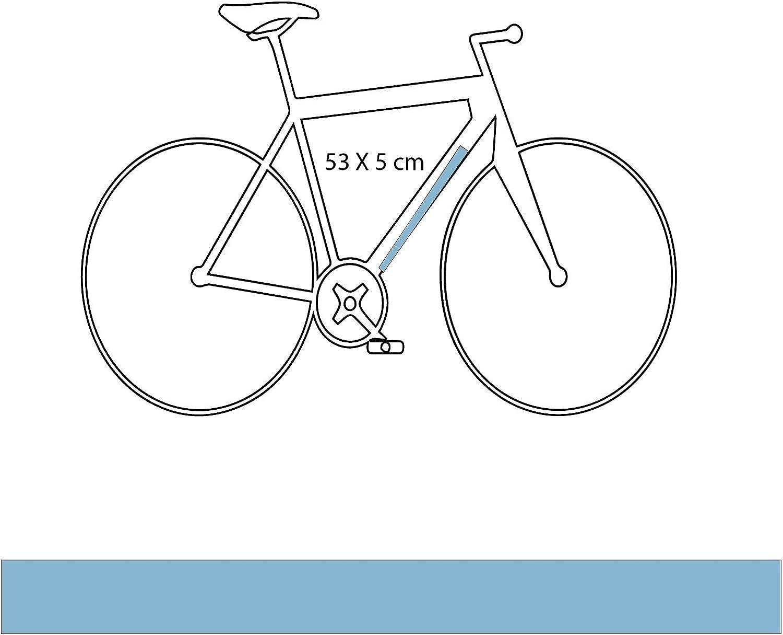 DESIGN PROTECT Película de Protección Mate Tubo Diagonal para Bicicleta De Carretera: Amazon.es: Deportes y aire libre