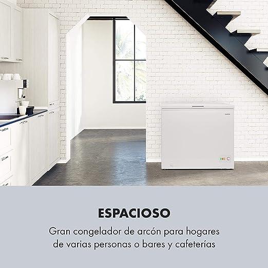 Klarstein Iceblokk Eco Congelador - Cámara congelador, Congelador ...