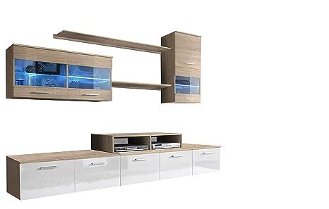 muebles bonitos - Mueble de salón Claudia Mod.12 (2,5m ...