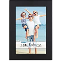 Icona Bay 4 x 6 Picture Frame (Black) Photo Frames 4 x 6, Black Picture Frames 4x6, Exclusives Series, Black