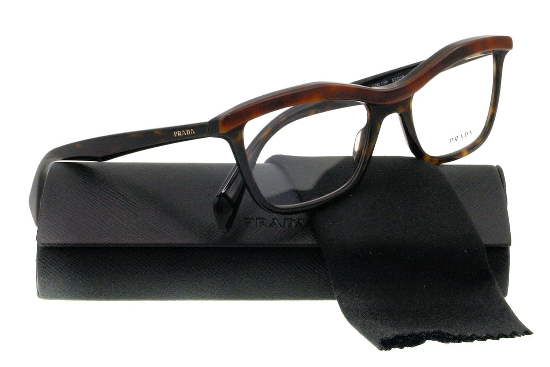 Eyeglasses Prada PR 17PV MA41O1 TOP LIGHT HAVANA/HAVANA DEMO LENS VPR 17P