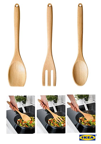 Compra IKEA rort - Cuchara, Tenedor para uso diario estándar de ...