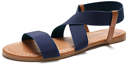 Sandalup Damen Elastische Sandalup Damen Sandalen 34AqRjL5