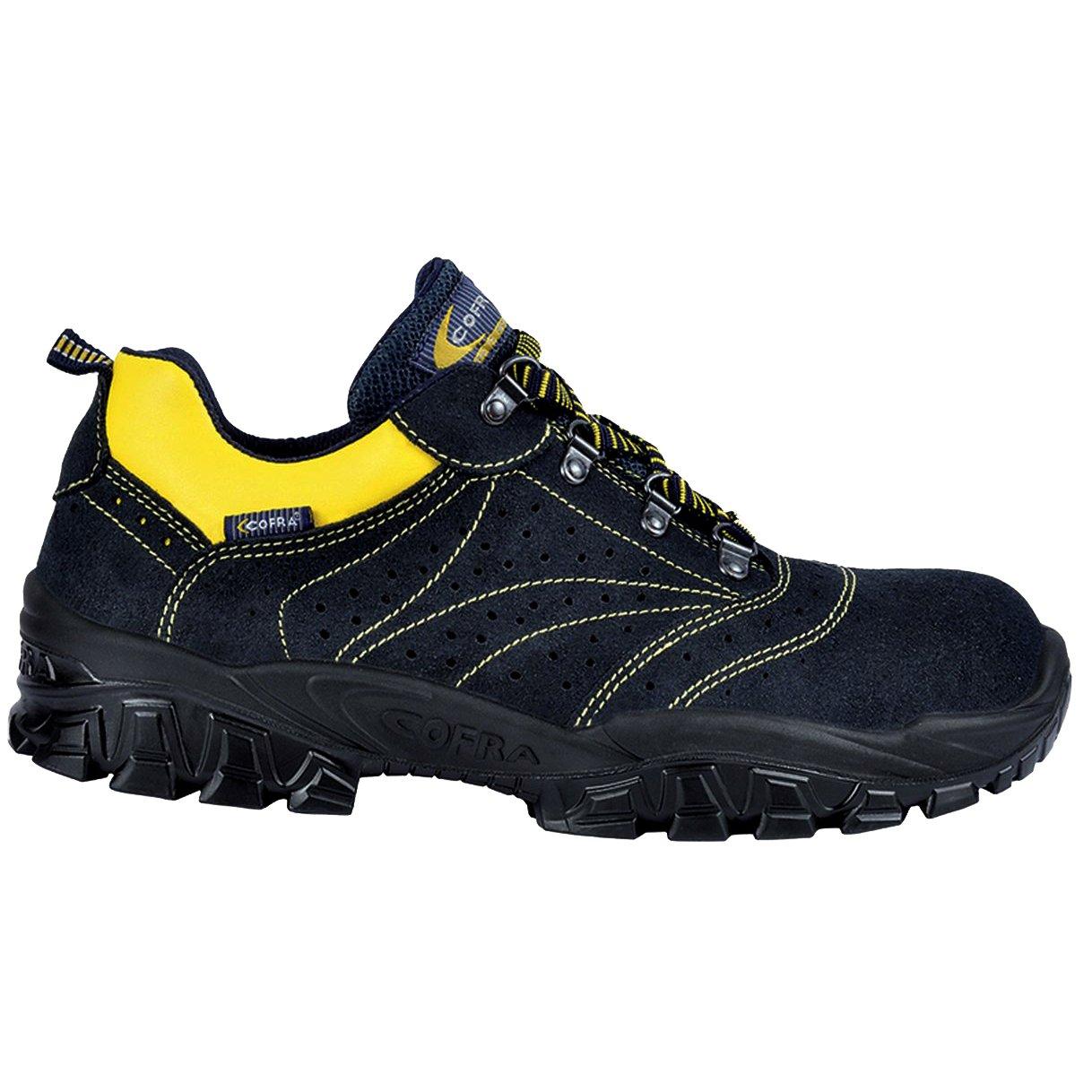 Cofra nt100/ /000.w40/Talla 40/s1/P SRC/ /Zapatillas de Seguridad Nueva Arno Color Negro y Amarillo