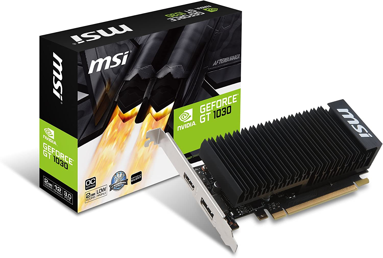 MSI GEFORCE GT 1030 2GH LP OC, V809-2498R