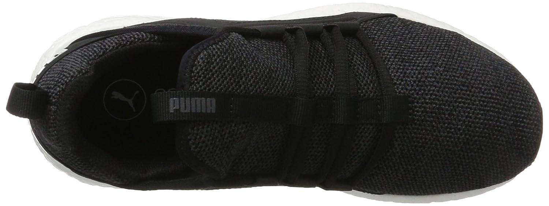 Puma Damen Mega NRGY Schwarz Knit Outdoor Fitnessschuhe Schwarz NRGY (schwarz-asphalt) 8b0c61