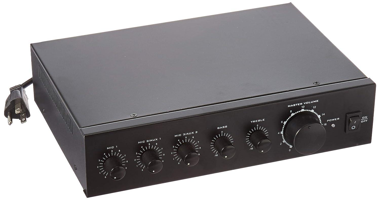 Monoprice Commercial Audio 60W 3ch 100/70V Mixer Amp (No Logo) 118800