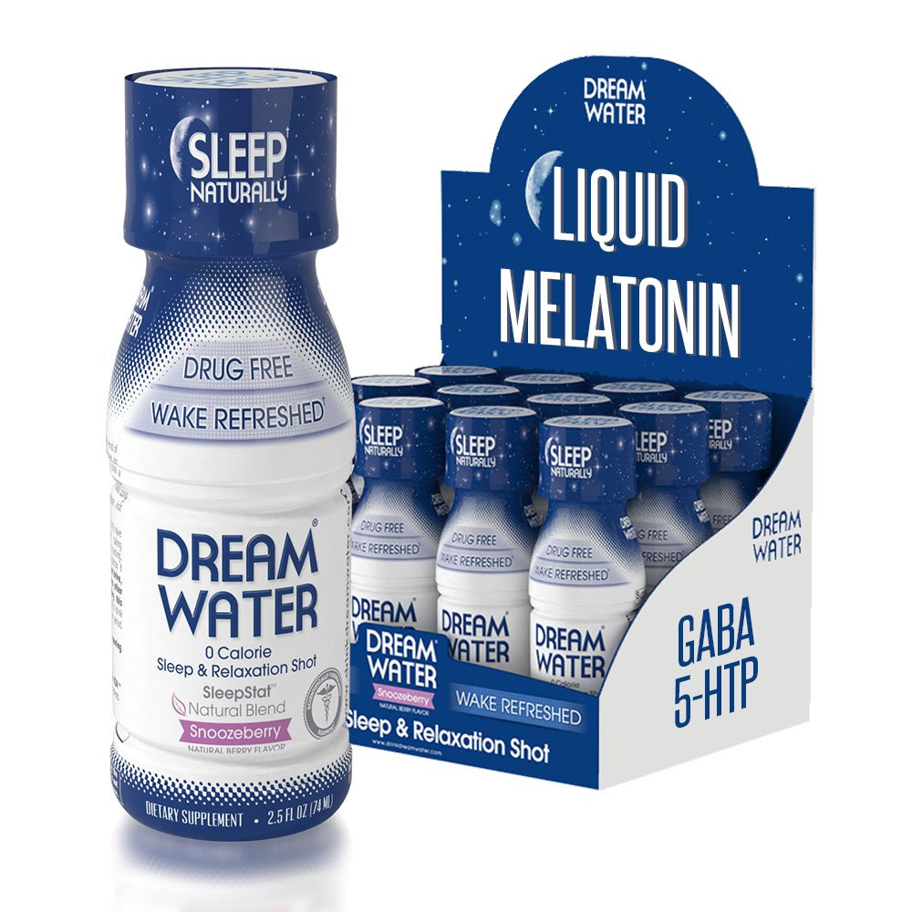 Dream Water Home and Travel Bundle, GREAT VALUE, Sleep Anywhere, FREE Powder 10pk by Dream Water (Image #3)
