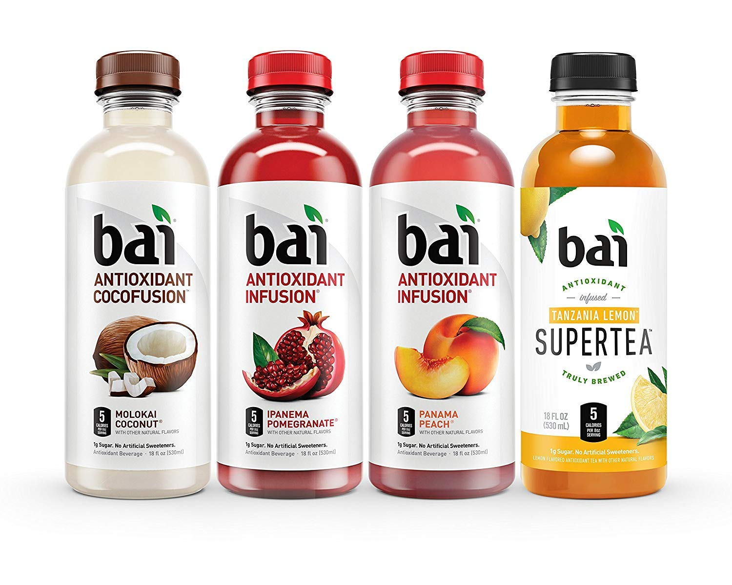 Bai Flavored Water, Mountainside Variety Pack, Antioxidant Infused Drinks, 18 Fluid Ounce Bottles (Mountainside Variety Pack, 2 Pack of 12) by bai