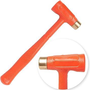 Dead Blow Hammer 1 5lb Dual Head Brass Tip Great For Gunsmiths Tuffman Tools Amazon Co Uk Diy Tools Nupla hammers, halder hammers, trusty cook hammers, garland hammers. amazon co uk