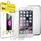 CellPRO 1 Tempered Glass Screen Protector and Silicone Case