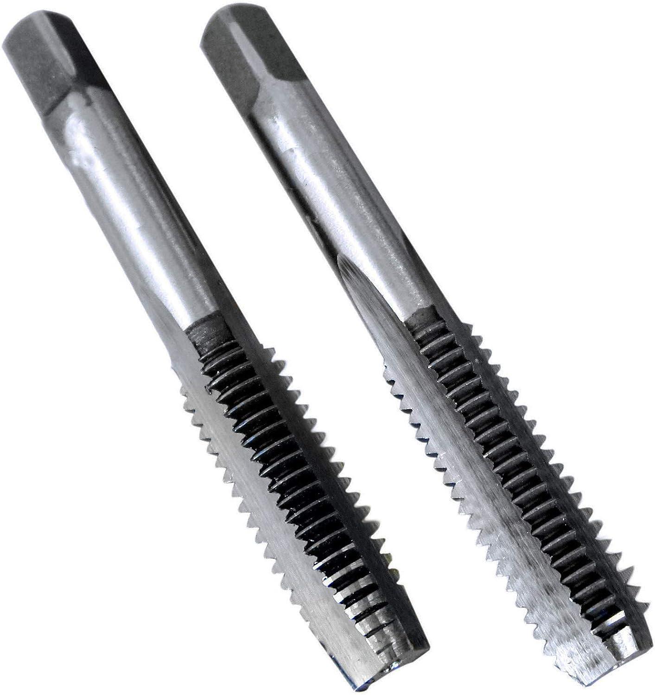 New HSS 8mm x 1 Metric Taper and Plug Tap Right Hand Thread M8 x 1mm Pitch