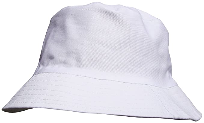 c2fd29d37ef White Bucket Hat for Men Or Women  Amazon.co.uk  Clothing