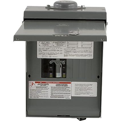 manual changeover switch schneider