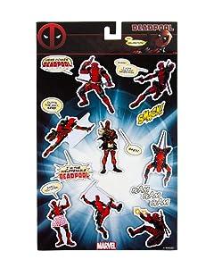 Marvel Gifts, Official Marvel Deadpool Refrigerator Magnets (set of 8)