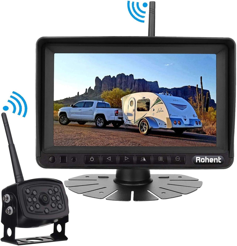 Rohent HD 960P Digital Wireless Backup Camera