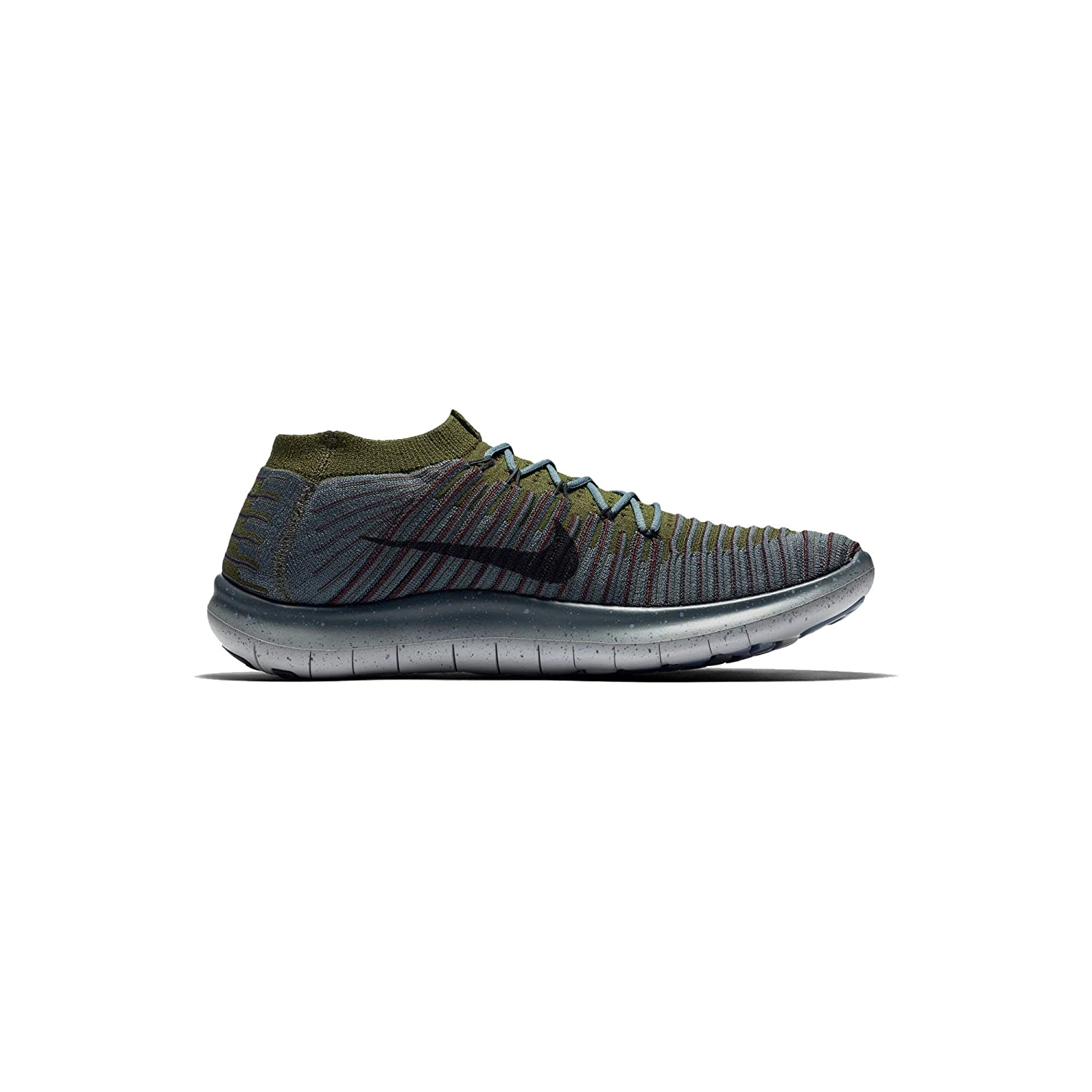 7ad2c80bd43b Nike Men s Free RN Motion Flyknit Running Blue Fox Green 834584-403 (10.  5)  Buy Online at Low Prices in India - Amazon.in