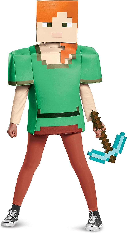Alex Classic Minecraft Costume, Multicolor, Small (12-12)