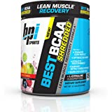BPI Sports Best BCAA Shredded - Caffeine-Free Thermogenic Recovery Formula - BCAA Powder - Lean Muscle Building - Accelerated Recovery - Weight Loss - Hydration - Fruit Punch - 25 Servings - 9.7 oz.