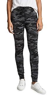 6358ec5ee12bb1 Amazon.com: SUNDRY Women's Camo Kick Flare Pants: Clothing