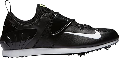 eb4f7ef431698 Color  Nike Men s Zoom PV II Track and Field Shoes(Black White